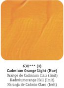 Daler Rowney - System 3 Acrylics - Cadmium Orange Light Hue