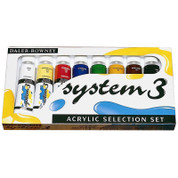 Daler Rowney - System 3 Acrylics - Selection Set