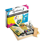 Daler Rowney - System 3 Acrylics - Screen Printing Set
