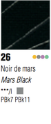 Pebeo Studio Acrylic - Mars Black