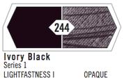 Liquitex Heavy Body - Ivory Black S1