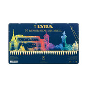 Lyra Rembrandt Aquarelle - Set in Tin 36