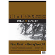 Daler Rowney - Fine Grain Heavyweight Cartridge Pad 200gsm