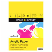 Daler Rowney - System 3 Acrylic Pad 230gsm