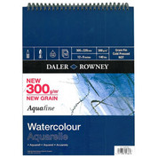 Daler Rowney - Aquafine Spiral Watercolour Pad 300gsm NOT