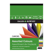 Daler Rowney - Canford Assorted Colours Paper Pad 150gsm