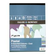 Daler Rowney - Murano Pastel Paper Pad 160gsm COOL