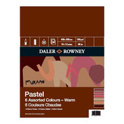 Daler Rowney - Murano Pastel Paper Pad 160gsm WARM