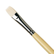 Da Vinci - 7182 Top Acryl White Synthetic Brush - Flat