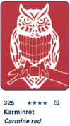 Schmincke Aqua Linoprint - Carmine Red S1