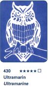 Schmincke Aqua Linoprint - Ultramarine S1