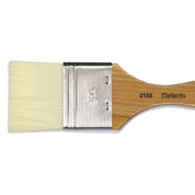 Atlantis - 2133V1 Long Hair Synthetic Flat Varnish Brush