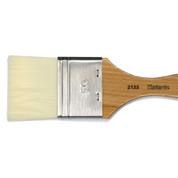 Atlantis - 2133V1 Long Hair Synthetic Flat Varnish Brush