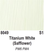 Atlantis Artist Oils - Titanium White (Safflower) S1