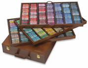Sennelier Soft Pastels - 'King' Wooden Box Set