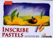 Inscribe Soft Pastel Set of 64 Half Stick