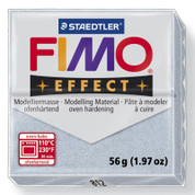 Staedtler Fimo Effect - Glitter Silver