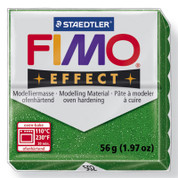 Staedtler Fimo Effect - Glitter Green