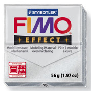Staedtler Fimo Effect - Metallic Silver