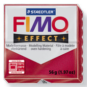 Staedtler Fimo Effect - Metallic Ruby Red