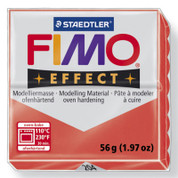 Staedtler Fimo Effect - Translucent Red