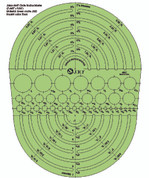 Jakar - Circle Radius Master Template