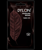 Dylon Hand Dye - 50gsm - Woodland Brown