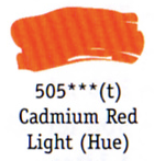 Daler Rowney Georgian Oil - Cadmium Red Light Hue