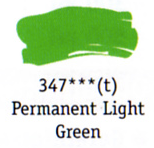 Daler Rowney Georgian Oil - Permanent Light Green