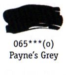 Daler Rowney Georgian Oil - Payne's Grey