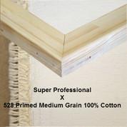 Bespoke: Super Professional x Universal Primed Medium Grain 100% Cotton Duck 528c