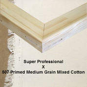 Bespoke: Super Professional x Universal Primed Medium Grain Cotton Mixed Fibres 507