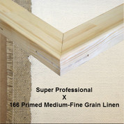 Bespoke: Super Professional x Universal Primed Medium Fine Grain Linen 166