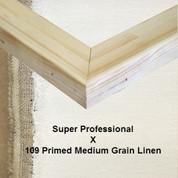 Bespoke: Super Professional x Universal Primed  Medium Grain Linen 109