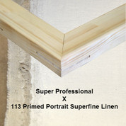 Bespoke: Super Professional x Universal Primed Portrait Superfine Linen 113