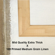 Bespoke: Mid Quality x Universal Primed Medium Grain Linen 109