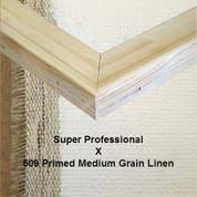 Bespoke: Super Professional x Universal Primed Medium Grain Linen 509