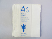 Khadi - Cotton Rag Paper Pack A6 320gsm - White