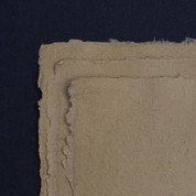 Khadi - Rag & Fibre Paper  210gsm - Gunny - Rough