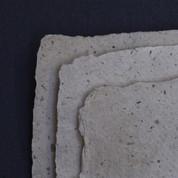 Khadi - Rag & Fibre Paper  210gsm - Banana - Rough