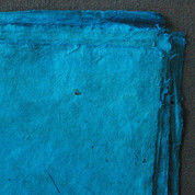 Khadi - Coloured Lokta Paper  30gsm - Turquoise