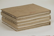 "Khadi - 100% Cotton Rag Hardback Book 210gsm - Rough 8""x 10"""