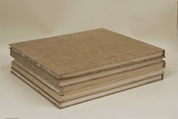 Khadi - 100% Cotton Rag Hardback Book 210gsm - Rough 28x35cm