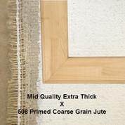 Bespoke: Mid Quality x Universal Primed Coarse Grain Jute 508