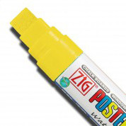 ZIG Posterman Large - Fluorescent Yellow