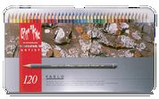 Caran D'ache - Pablo Water Resistant Colour Pencil Set of 120