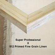 Bespoke: Super Professional x Universal Primed Fine Grain Linen 512