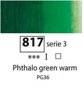 Sennelier Artists Oils - Phthalo Green Warm S3