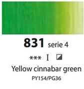 Sennelier Artists Oils - Yellow Cinnabar Green S4