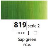 Sennelier Artists Oils - Sap Green  S2